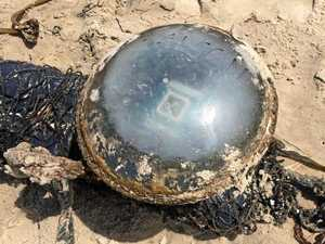 Mystery continues in identifying strange object on beach