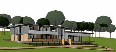 Artist's impressions show plans for a new eating disorder facility at Mooloolah Valley.