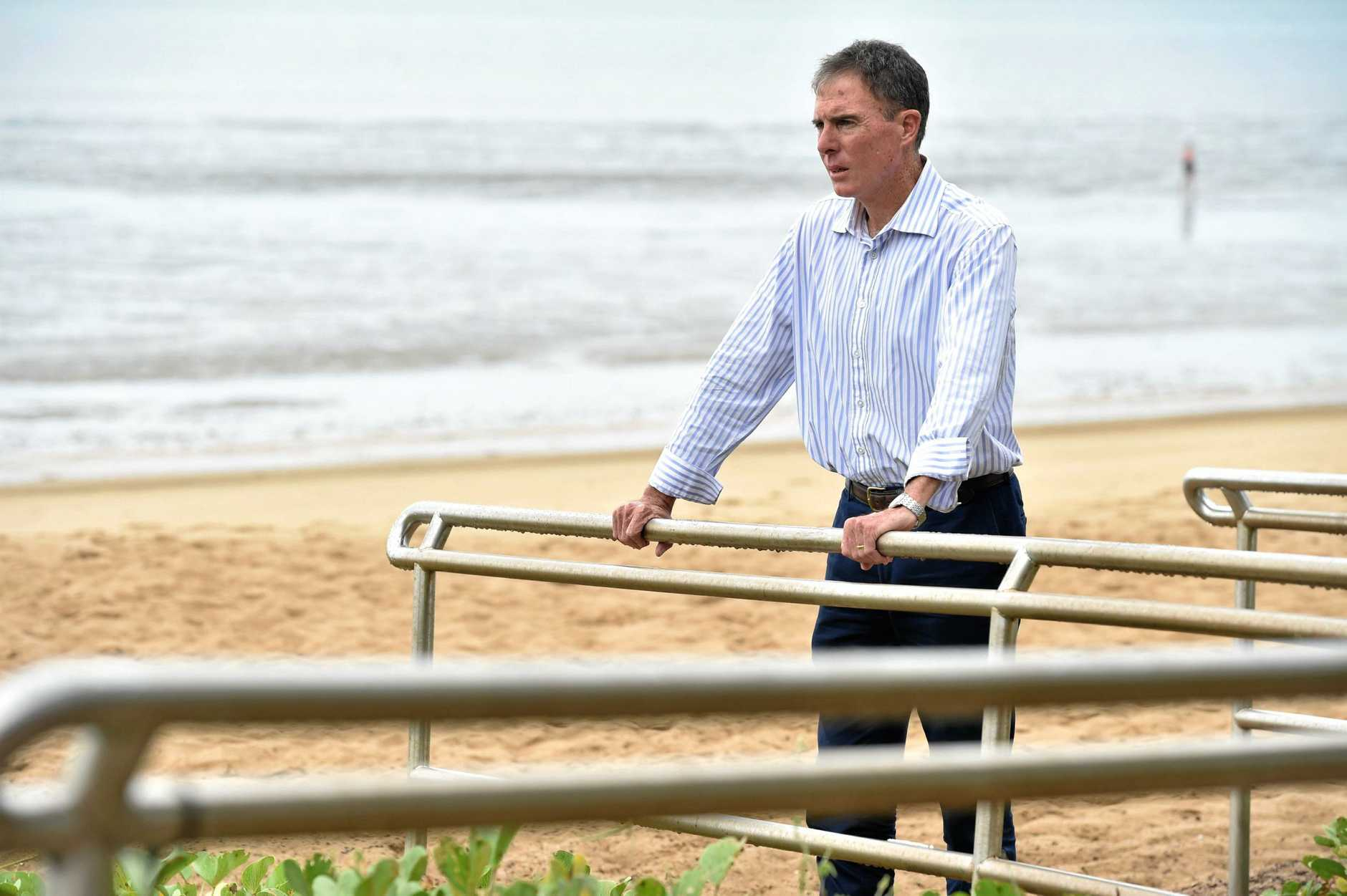 NO RUN: Ex-Fraser Coast Mayor Gerard O'Connell denied rumours he would run in a by-election.
