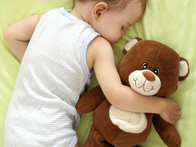 A four-month-old baby was caught up in the attack. .