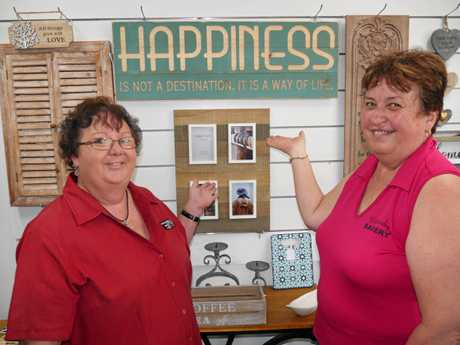 Proserpine business advocates Tracey Cameron and Lorella Cassells.