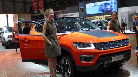 The Jeep Compass at the 2017 Geneva Motor Show