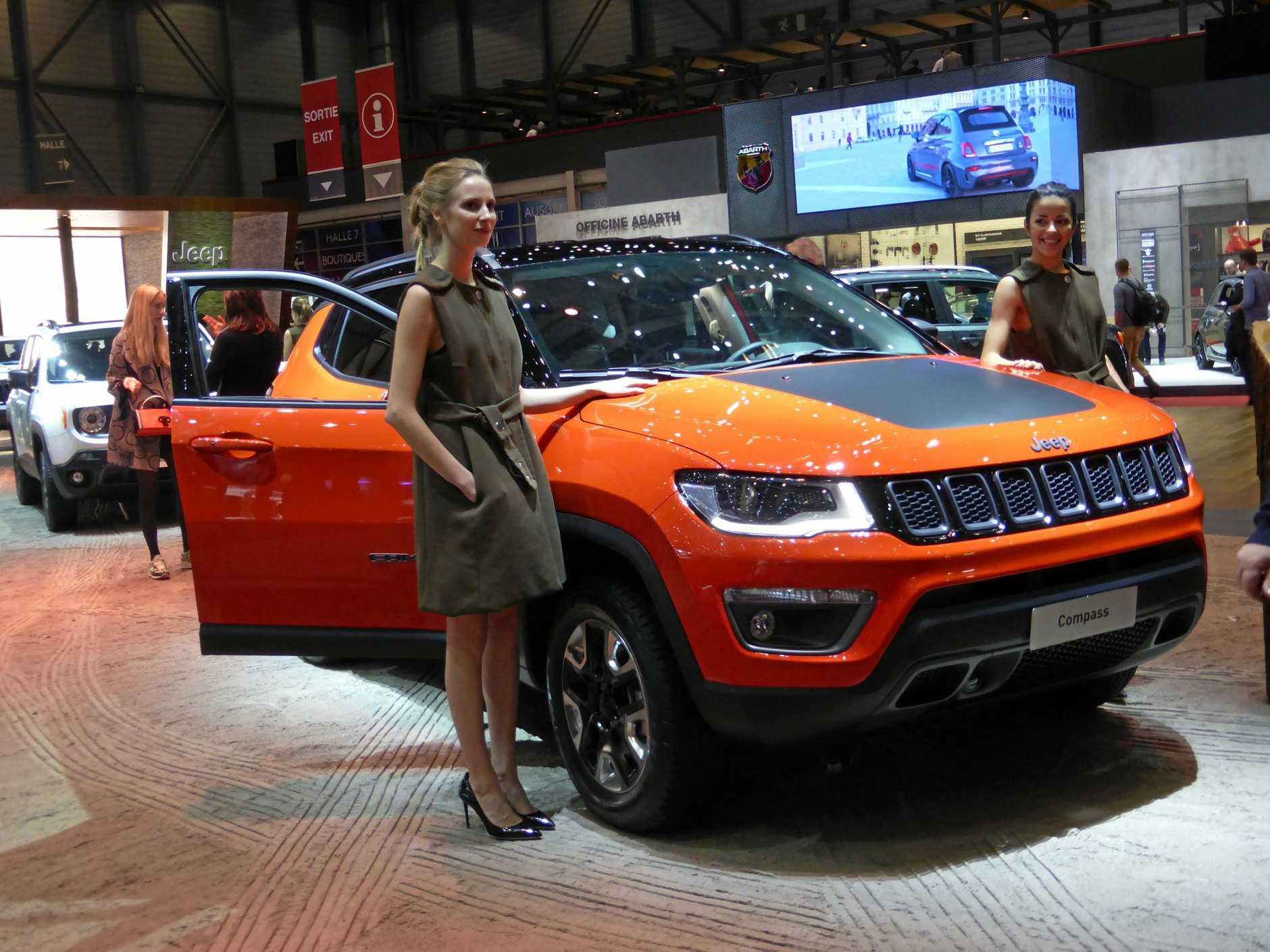 Jeep Compass at the 2017 Geneva Motor Show