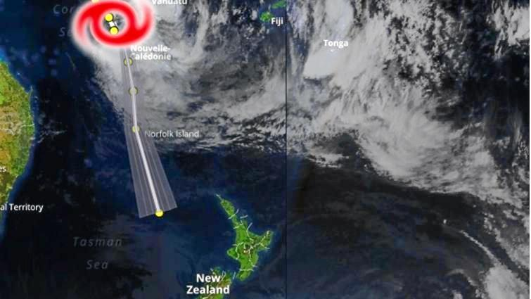 Category one Cyclone Fehi formed today in the Pacific and is expected to drive heavy swell and seas to the east coast this week.