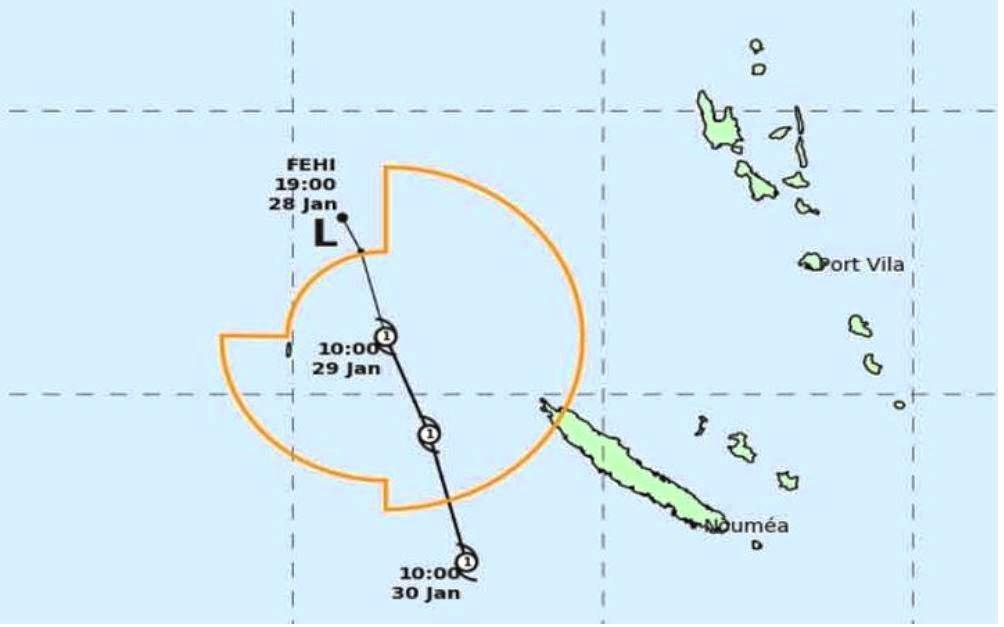 Cyclone Fehi.