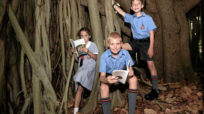 Imogen Land, Grade 2, Josh Peckett, Grade 5, and  Alexander Connell, Grade 5,  have enjoyed discovering the work of Enid Blyton including her iconic Famous Five books.