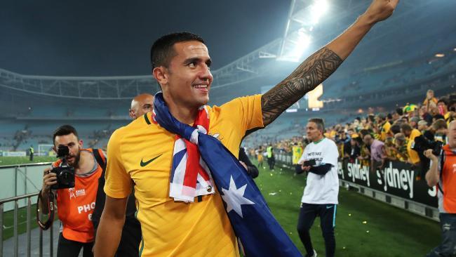 Australia's Tim Cahilll.