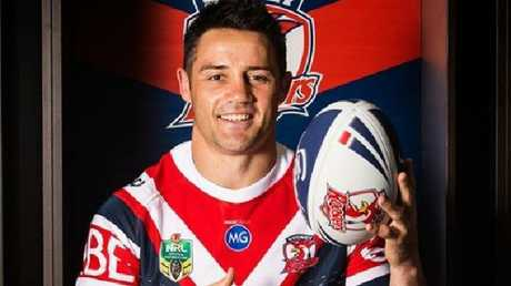 Cooper Cronk in his new Sydney Roosters playing strip