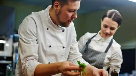There are hoardes of jobs for chefs and no need to get a degree to work as one. Picture: iStock