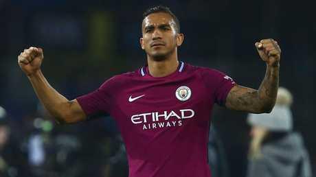 Manchester City's Brazilian defender Danilo.