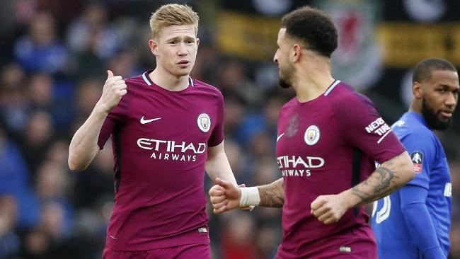 Manchester City's Kevin De Bruyne.