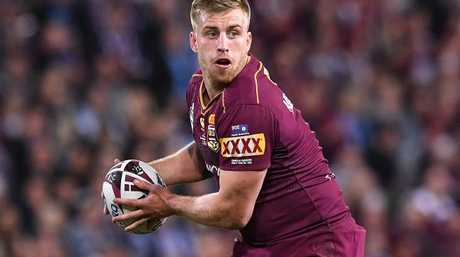 Cameron Munster was banned from the 2016 Origin series for breaking team rules.