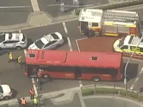 Woman Hit By Bus In Sydney's West