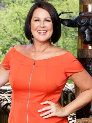 I'm a Celeb co-host Julia Morris.