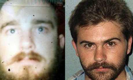 Robert Grayson and Derek Van Der Poel Picture: AAP Image/ Supplied by Queensland Police