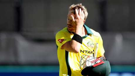 David Warner averaged 14.60.
