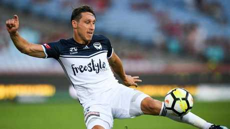 Mark Milligan is close to completing his move to Saudi Arabian giants Al-Ahli. Picture: AAP