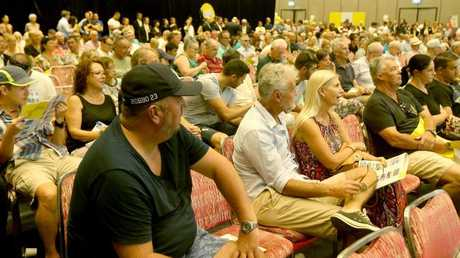Pictured at the RACV Royal Pines Resort for the Ray White's The Event, mega auction. Picture Mike Batterham