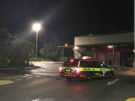 There has been a gas explosion at Ballina Central.