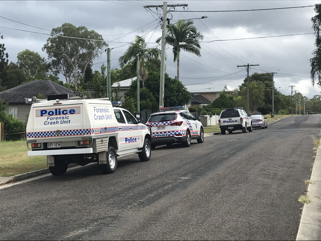 A TEENAGE girl has been taken to hospital after being struck by a car just before 8.30am in Brassall.