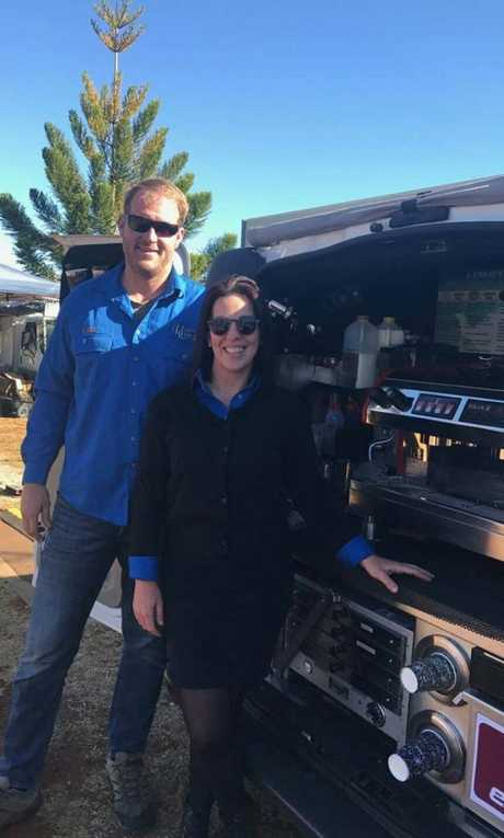 Cam Barnes and Helen Gent, from Heavenlea Cups, have invested in trading in cryptocurrency. They said it won't be long before it becomes very popular in Toowoomba.