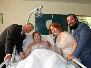 'Special wedding': Mum's dying wish to see daughter marry