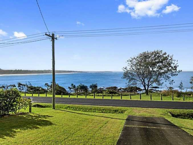 WHAT A VIEW: The vista from 40 Pollack Esplanade, Woolgollga which has set a new sales record.
