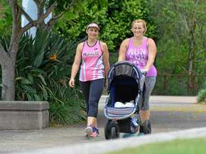 Hitting the footpath to improve post-baby health