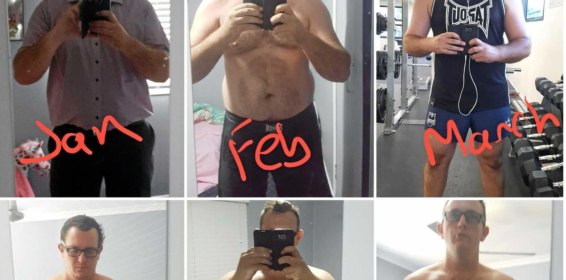 Beginning of a weight loss journey.