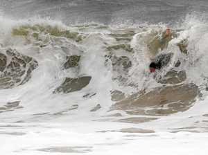 Cyclone Fehi drives huge swells, hazardous surf warning active