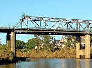 Weather brings a halt to bridge work