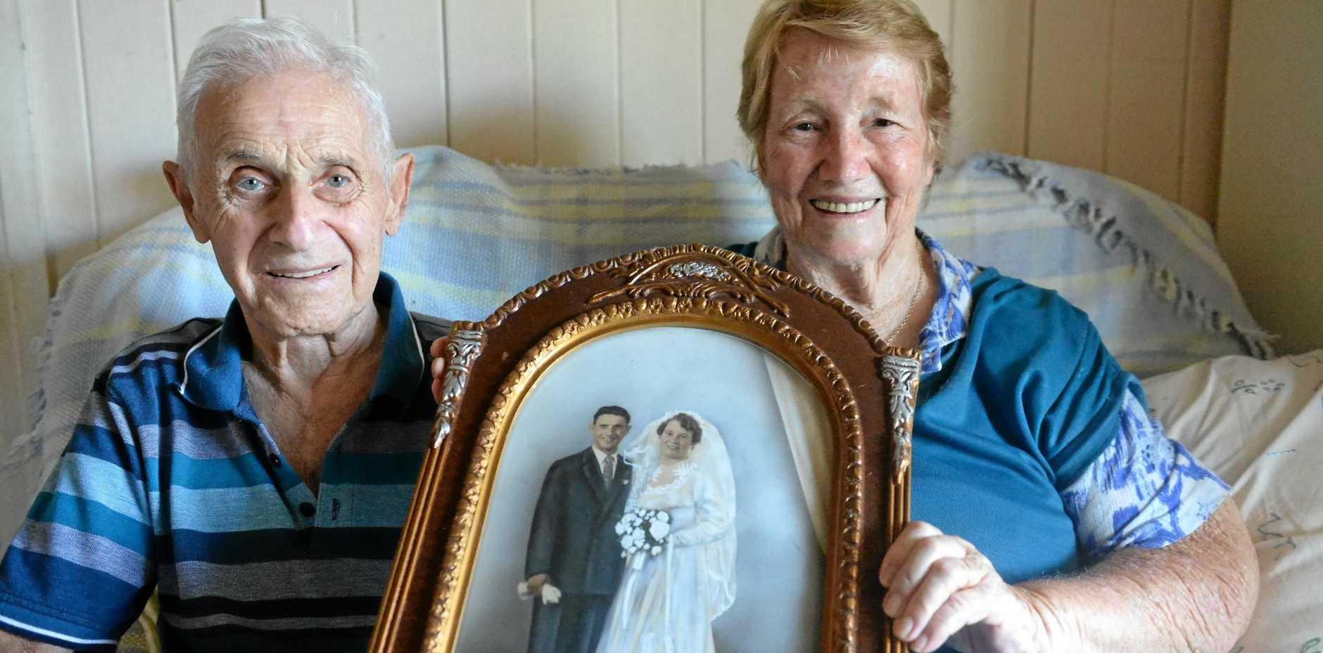Settimio 'Sam' and Maisie Tortora are preparing to celebrate their 60th wedding anniversary.