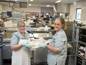 New multi-million dollar hospital kitchen served up