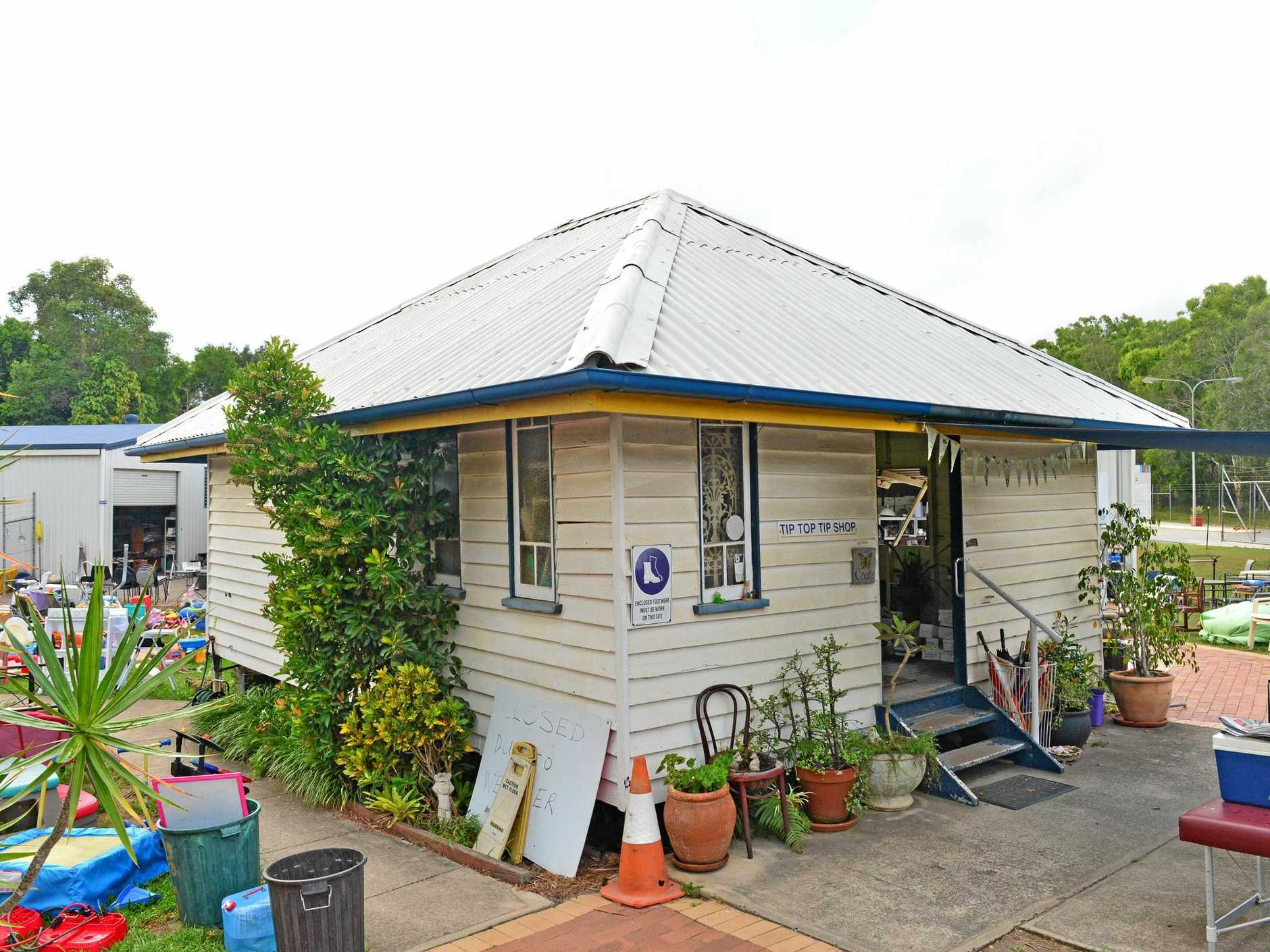 Noosa Surf Club house during the 1930's is now an office at Noosa's tip.