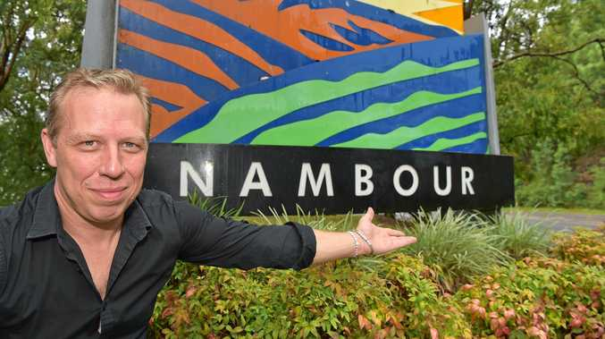 MOTIVATED: Loic Valmy is encouraging Nambour residents to get together a few times a month and work on projects needed to revitalise the town.