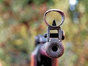'Getting on the grog and shooting guns' lands man in court