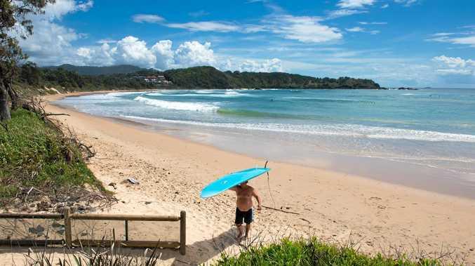 Diggers Beach Coffs Harbour.   Photo: Trevor Veale / The Coffs Coast Advocate