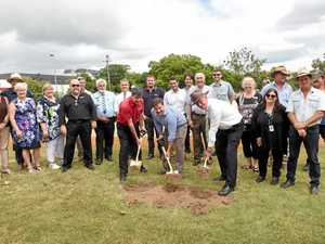 First sod turned for Queen's Park War Memorial