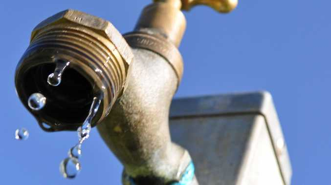 Recycled water reserves are running low in Isaac.