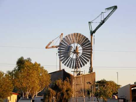Construction of the new $22million Waltzing Matilda Centre at Winton.
