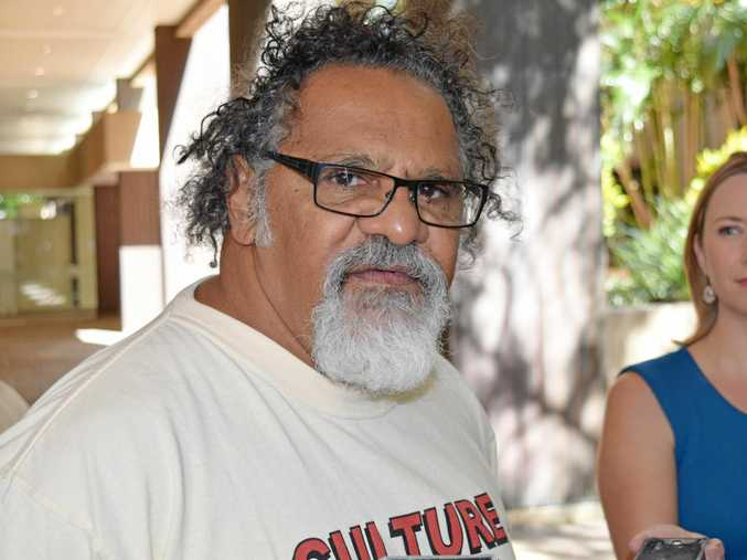 Wangan and Jagalingou man Adrian Burragubba is taking legal action to stop the Adani Carmichael mine.