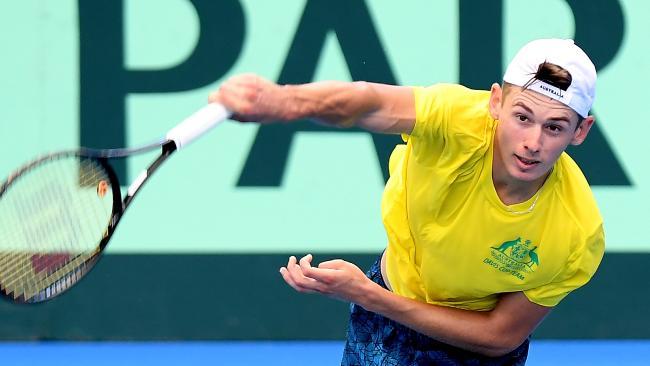 Hewitt gave nothing away about de Minaur chances. (Bradley Kanaris/Getty Images)