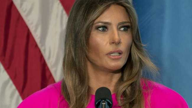 US First Lady Melania Trump was reportedly furious over her husband's alleged affair with porn star Stormy Daniels. Picture: AP