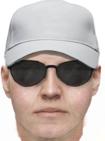 A facefit of a man police want to speak to. Picture: Victoria Police