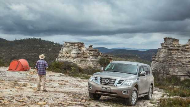 How's the serenity? The Nissan Patrol at the Lost City outside of Lithgow, NSW.
