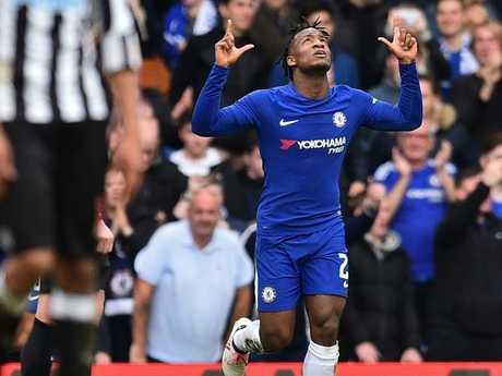 Chelsea's Belgian striker Michy Batshuayi.
