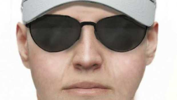 A facefit of a man police want to speak to about an incident. Picture: Victoria Police