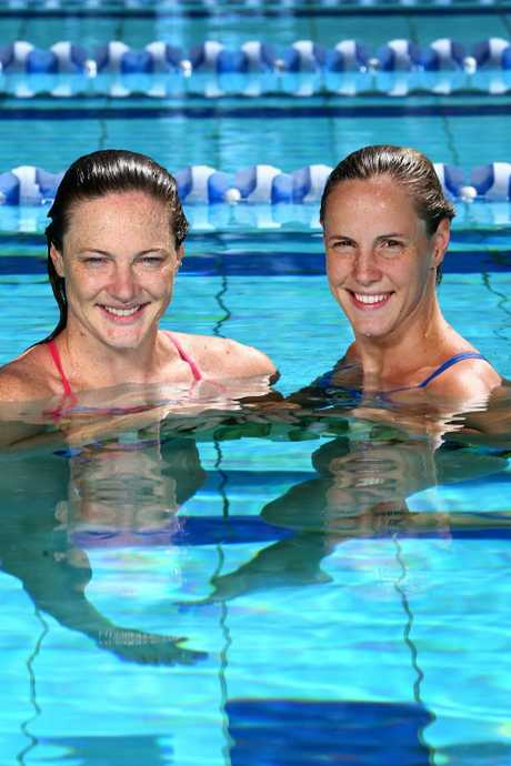 Cate and Bronte Campbell are Australia's most famous swimming sisters. Picture: Adam Head