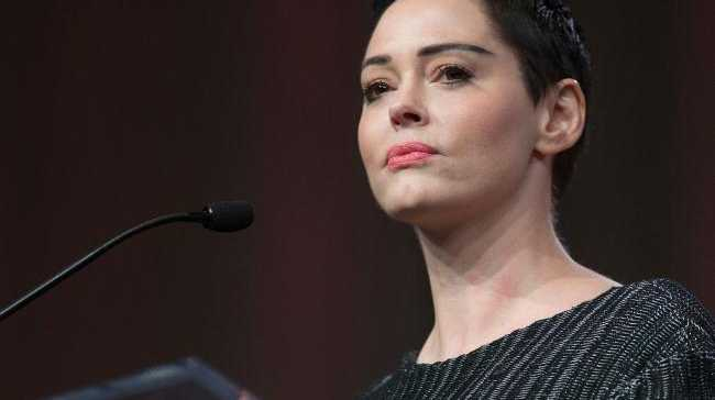 The actor and activist has spearheaded the campaign against Weinstein. Picture: AFP Photo/Rena Laverty