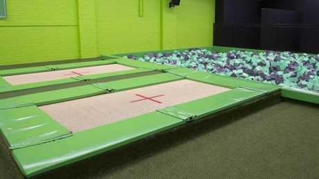 The Flip Out indoor trampoline park in Prestons.